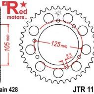 Foaie/pinion spate JTR1134.56 428 cu 56 de dinti pentru Derbi Mulhacen 125, Senda 125, HM-Moto CRE 50