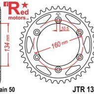 Foaie/pinion spate JTR1306.40 530 cu 40 de dinti pentru Honda CBR 900, 1000 RR Fireblade