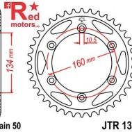 Foaie/pinion spate JTR1306.43 530 cu 43 de dinti pentru Honda CBR 900, CBR 1000