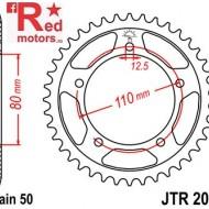 Foaie/pinion spate JTR2010.45 530 cu 45 de dinti pentru Triumph Adventurer 900, Daytona 750, 900, 1000, 1200, Sprint 900