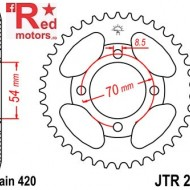 Foaie/pinion spate JTR211.34 420 cu 34 de dinti pentru Honda C 90