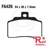 Placute frana fata STD EBC 64x48x7.8 FA426 pentru Beta M4 350