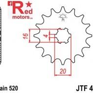 Pinion fata JTF 421 cu 11 dinti