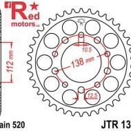 Foaie/pinion spate JTR1303.39 520 cu 39 de dinti pentru Honda CBR 600