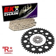 Kit lant premium EK QX-Ring 520 SRX2 pentru Kawasaki EX250R Ninja 250 R Special Edition 2012