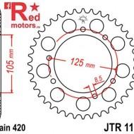 Foaie/pinion spate JTR1131.53 420 cu 53 de dinti pentru Aprilia RX 50, Derbi Senda 50