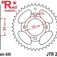 Foaie/pinion spate JTR211.36 420 cu 46 de dinti pentru Honda C 90
