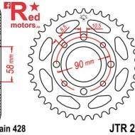 Foaie/pinion spate JTR269.43 428 cu 43 de dinti Daelim