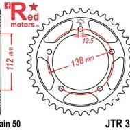 Foaie/pinion spate JTR302.45 530 cu 45 de dinti pentru Honda CB 900, CB 1100, CB 1300