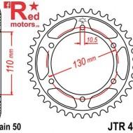 Foaie/pinion spate JTR479.43 530 cu 43 de dinti pentru Kawasaki GPX 600, GSX-R 1000
