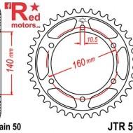 Foaie/pinion spate JTR502.44 530 cu 44 de dinti pentru Kawasaki GPX 750, GPZ 900, GPZ 1100, ZX-10 1000