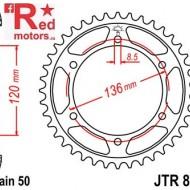 Foaie/pinion spate JTR862.45 530 cu 45 de dinti pentru Yamaha RD 500, XJ 600