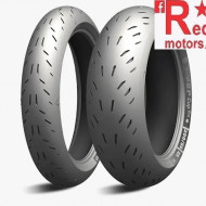 Set anvelope/cauciucuri moto Michelin Power CUP Evo 110/70ZR17 54W + 150/60ZR17 66W