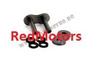 Za legatura lant moto EK 525 SRX MJL - Tip nit (fixare prin nituire)