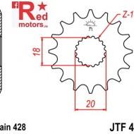 Pinion fata JTF 426 cu 11 dinti