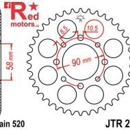 Foaie/pinion spate JTR273.45 520 cu 45 de dinti pentru Honda CA 125