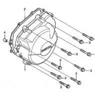 Capac alternator/stator/motor/generator stanga OEM original Honda CBR600F4, F4I 1999-2003