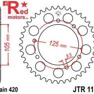 Foaie/pinion spate JTR1131.48 420 cu 48 de dinti pentru Aprilia RX 50, Derbi Senda 50