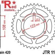 Foaie/pinion spate JTR1133.53 420 cu 53 de dinti pentru Aprilia RS 50, RS4 50, Derbi GPR 50, Derbi Senda 50