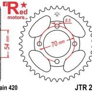 Foaie/pinion spate JTR211.38 420 cu 38 de dinti pentru Honda C 90
