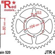 Foaie/pinion spate JTR478.43 520 cu 43 de dinti pentru Kawasaki ER-6F 650