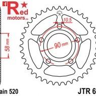 Foaie/pinion spate JTR604.38 520 cu 38 de dinti pentru Honda NSR 125