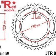 Foaie/pinion spate JTR862.38 530 cu 38 de dinti pentru Yamaha RD 500, XJ 600