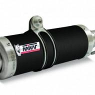 Kit 2 evacuari/tobe MIVV GP K.010.LXB omologate Steel Black pentru Kawasaki Z1000 2003-2006
