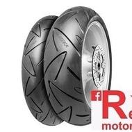 Set anvelope/cauciucuri moto Continental ROADATTACK 120/60 R17 55W + 160/60 R17 69W