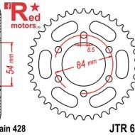 Foaie/pinion spate JTR600.52 520 cu 52 de dinti
