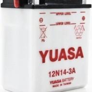 Acumulator moto TOPLITE YUASA - 12N14-3A (CU INTR., NU INCL. ACID)