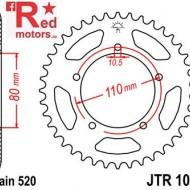 Foaie/pinion spate JTR1075.39 520 cu 39 de dinti pentru Honda CB 400, Kymco Venox 250
