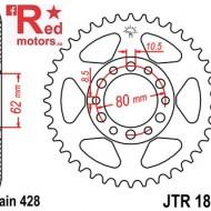 Foaie/pinion spate JTR1842.37 428 cu 37 de dinti pentru Yamaha DT 125, TW 125, XT 350
