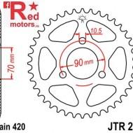 Foaie/pinion spate JTR239.43 420 cu 43 de dinti pentru Honda MB 80, 50
