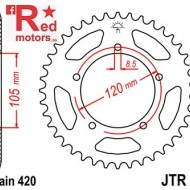 Foaie/pinion spate JTR24.51 420 cu 51 de dinti pentru Aprilia RX 50, Generic TR 50