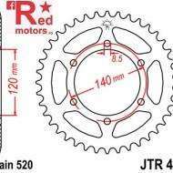 Foaie/pinion spate JTR475.44 520 cu 44 de dinti pentru Kawasaki KLR 250