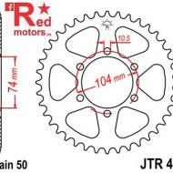 Foaie/pinion spate JTR481.42 530 cu 42 de dinti pentru Kawasaki Z 400, Z 650