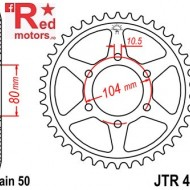 Foaie/pinion spate JTR488.43 530 cu 43 de dinti pentru Kawasaki Z 550, Z 750, ZRX 1200