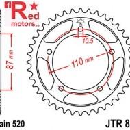 Foaie/pinion spate JTR823.39 520 cu 39 de dinti pentru Suzuki GS 500