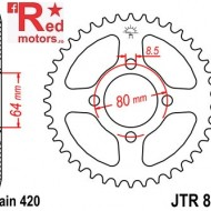 Foaie/pinion spate JTR834.52 420 cu 52 de dinti pentru Yamaha FS 80, PW 80, TT-R 50