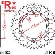 Foaie/pinion spate JTR853.43 520 cu 43 de dinti pentru Buffalo/Quelle Rex 150, 250, Derbi DXR 200, 250, Kreidler Mustang 170, 250, SMC/Barossa, Yamaha DT