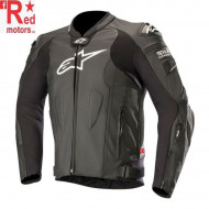 Geaca moto piele ALPINESTARS MISSILE LEATHER JACKET TECH-AIR® COMPATIBLE