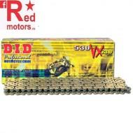 Kit lant DID Auriu/Gold X-RING PRO-STREET 530VX Suzuki GSX1300 BK-K8,K9,L0,L1 BK B-King 2008-2011
