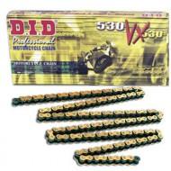 Lant moto DID 530VX GOLD cu 112 zale
