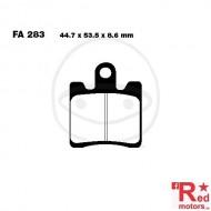Placute frana fata STANDARD SCOOTER EBC 44.7x53.5x8.6 FA283 pentru Suzuki AN 250, AN 400