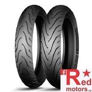 Set anvelope/cauciucuri moto Michelin Pilot Street Radial 110/70 R17 54H + 130/70 R17 62H