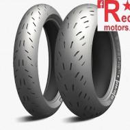 Set anvelope/cauciucuri moto Michelin Power CUP Evo 110/70ZR17 54W + 190/55ZR17 75W