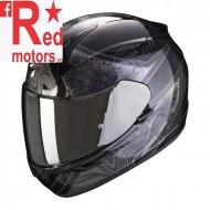 Casca moto integrala Scorpion Exo-390 Clara