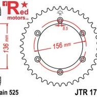 Foaie/pinion spate JTR1791.41 525 cu 41 de dinti pentru Suzuki DR 650