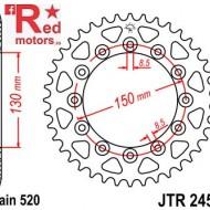 Foaie/pinion spate JTR245/2.47 520 cu 47 de dinti Honda CB 250, NX 250